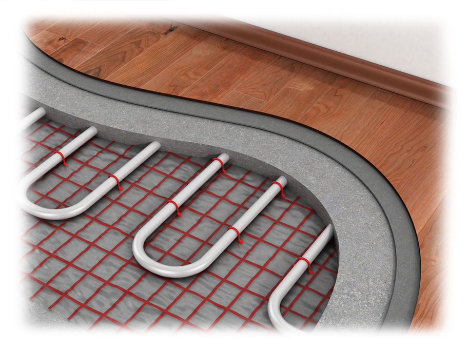 install underfloor heating and find local heating enginees